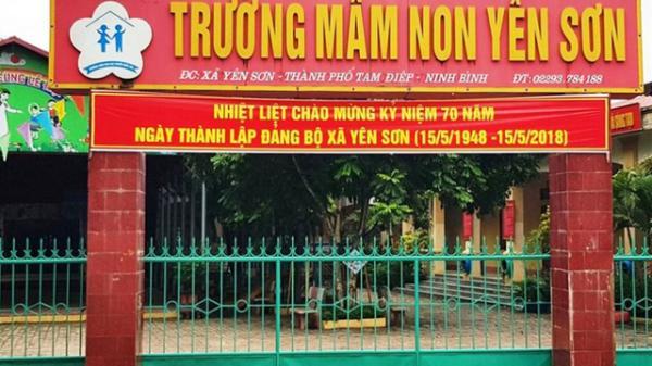 Sai phạm về thu phí tại Trường Mầm non Yên Sơn (Tam Điệp)