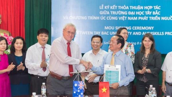 Australia hỗ trợ các trường đại học khu vực miền núi phía Bắc