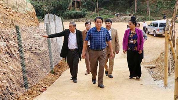 Thẩm định, xét công nhận xã Hua La đạt chuẩn nông thôn mới năm 2018