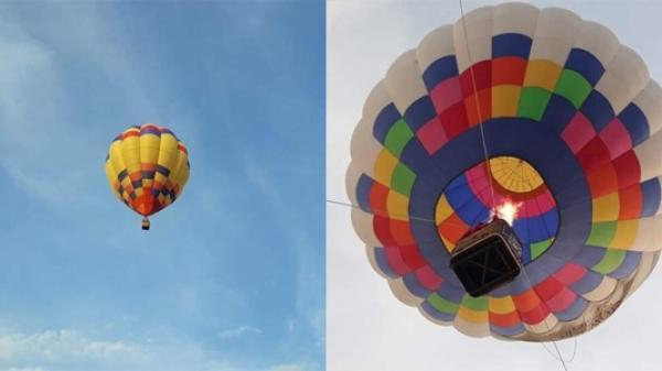 """NGÀY MAI, """"Lễ hội khinh khí cầu Quốc tế"""" sẽ tung bay trên bầu trời Cao nguyên Mộc Châu (Sơn La)"""