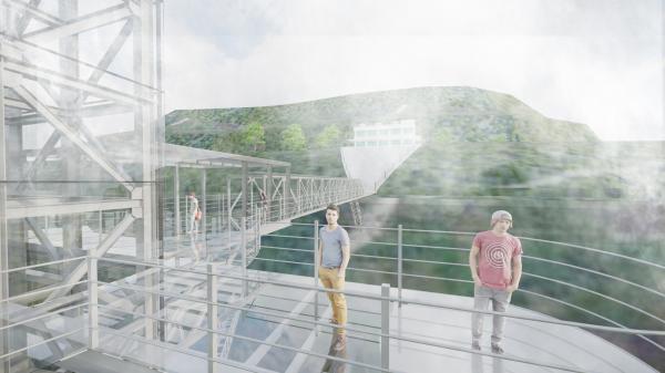 Cầu kính dài 600m sắp xuất hiện ở miền Bắc