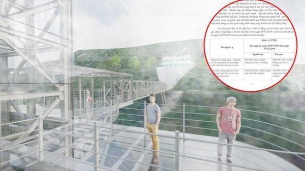 Cầu kính cao 500m treo vách núi tại miền Bắc sẽ mở bán vé vào tháng 7 này
