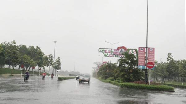 Mưa dông diện rộng tiếp tục trút xuống Lào Cai