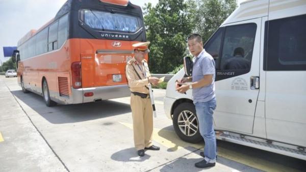 Lào Cai: Tổng kiểm tra nồng độ cồn, ma túy đối với các tài xế