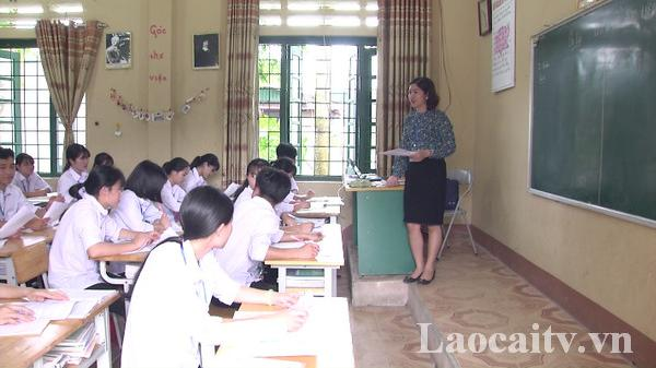 Năm học 2019 – 2020, thành phố Lào Cai sẽ tiếp nhận 39 giáo viên, nhân viên không qua sát hạch