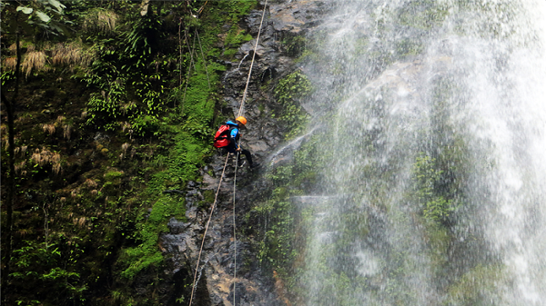 Sẽ đưa hoạt động trượt thác nước tại Vườn Quốc gia Hoàng Liên – Sa Pa vào phục vụ du khách
