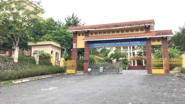 Trường THPT Chuyên Lào Cai có 3 điểm 10 kỳ thi THPT quốc gia