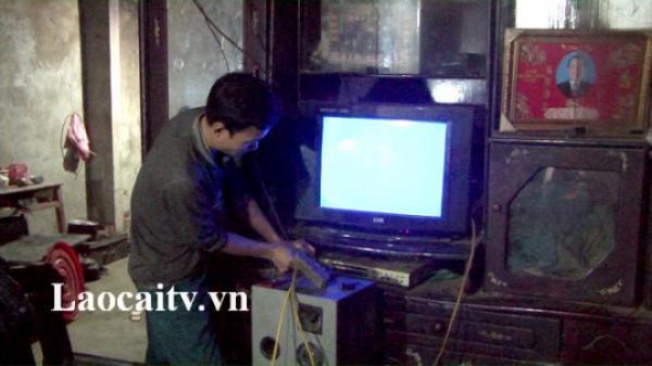 Hỗ trợ thiết bị nghe, xem cho hộ nghèo trên địa bàn tỉnh Lào Cai