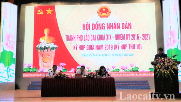 HĐND thành phố Lào Cai thống nhất sáp nhập 2 phường Lào Cai, Phố Mới