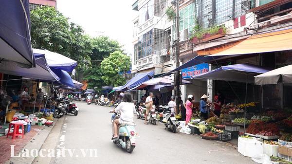 Lào Cai: Tái diễn tình trạng vi phạm lấn chiế.m vỉa hè