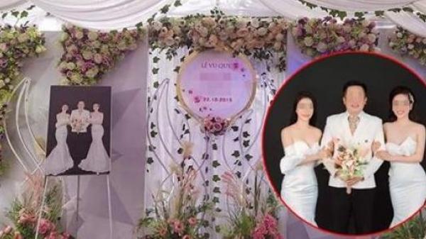 Sự thật phía sau hình ảnh đám cưới 1 chú rể 2 cô dâu gây xôn xao MXH