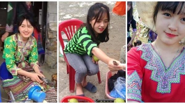 5 thiếu nữ vùng cao 'gây thương nhớ' nhờ khoảnh khắc bán hàng xinh đẹp