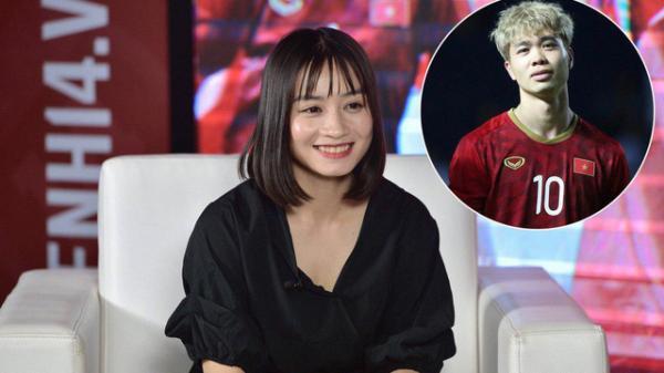"""Hot girl bóng đá Hoàng Thị Loan tiết lộ """"bí mật"""" về mối quan hệ với Công Phượng"""