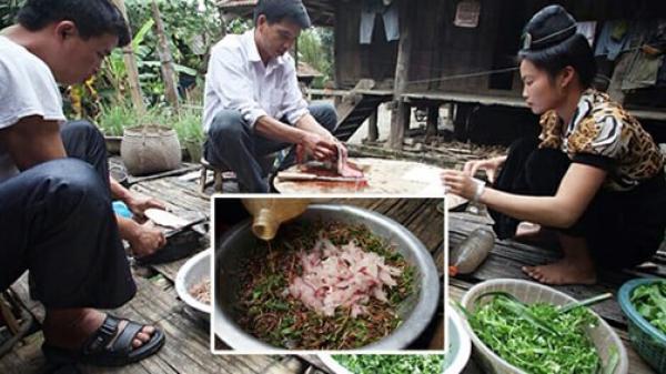 Gỏi cá - Món ăn dịp Tết của người Tây Bắc