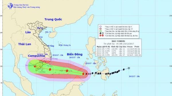 Lo ngại bão số 16 đổ bộ vào đất liền trong tình trạng hồ chứa đang đầy
