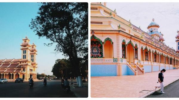 CÓ THỂ BẠN CHƯA BIẾT: Tòa thánh cốt tre nổi tiếng thế giới lại nằm ngay ở Tây Ninh