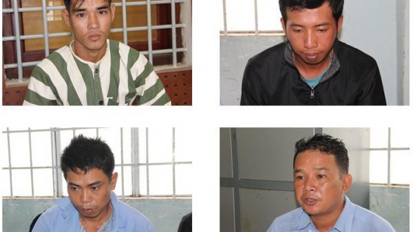 Tây Ninh: Bắt quả tang 4 đối tượng cắt trộm cáp viễn thông