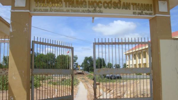 Tây Ninh: Đầu tư trên 13,4 tỷ đồng xây dựng Trường THCS An Thạnh đạt chuẩn quốc gia