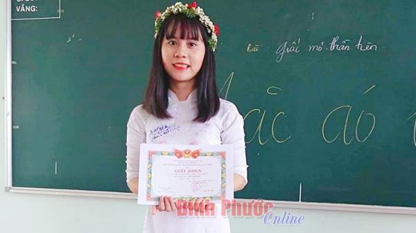 """Bình Phước: Niềm vui khi """"ẵm"""" học bổng Tinh hoa"""