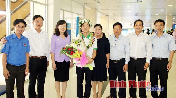 Bình Phước: Nguyễn Văn Thành Lợi đoạt huy chương đồng Olympic Vật lý quốc tế
