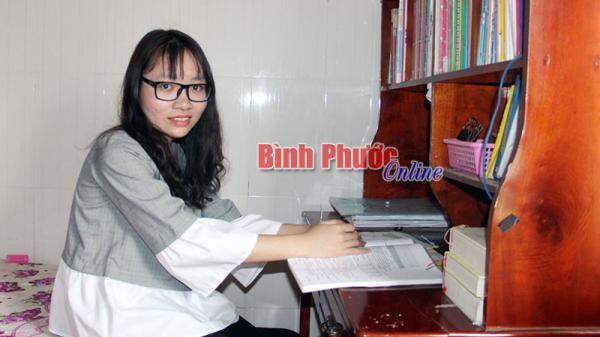 Bình Phước: Nguyễn Thị Hằng - thủ khoa Đại học Khoa học xã hội và Nhân văn