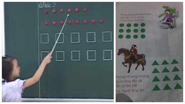 """HOT: Hàng loạt clip học sinh đọc bằng hình tròn, hình vuông được chia sẻ gây """"bão"""""""