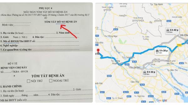 Bệnh nhân ung thư đi 250 km chỉ để bổ sung hai chữ 'hồ sơ'