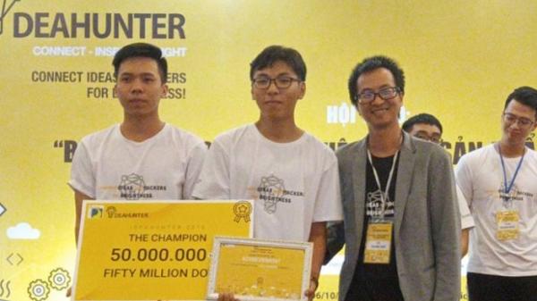 """Chàng sinh viên Tây Ninh đoạt giải quán quân IdeaHunter 2018 với dự án """"Sổ tay lưu trữ bệnh án áp dụng Blockchain và AI"""""""