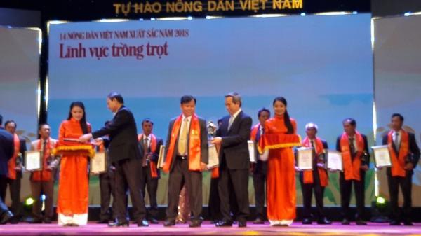 Một nông dân Tây Ninh đạt danh hiệu Nông dân Việt Nam xuất sắc năm 2018