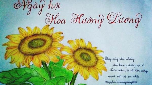 Sự thật về việc chia sẻ hình hoa hướng dương: Bạn có thật sự giúp đỡ được bệnh nhi ung thư?