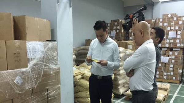 Bắt đầu chiến dịch kiểm tra an toàn thực phẩm Tết