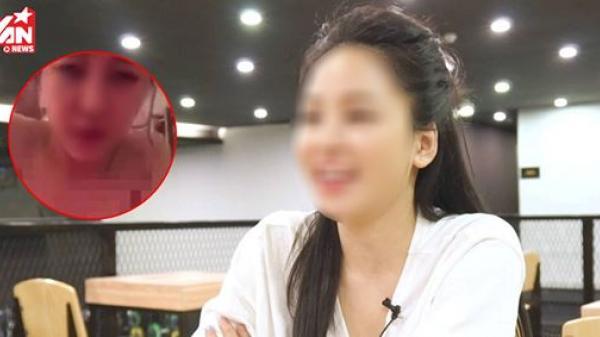 Trước sự gay gắt của CĐM về clip nóng hot girl Hà Nội, nhân vật chính đã lên tiếng?