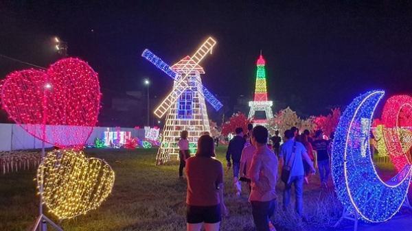 Tây Ninh tưng bừng chờ đón lễ hội ánh sáng hoành tráng với hàng triệu bóng đèn LED