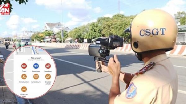 Tính năng cảnh báo bắn tốc độ vừa được thêm trên Google Maps