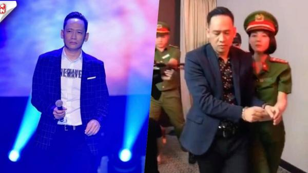 Hình ảnh ca sĩ Duy Mạnh bị công an bắt gây xôn xao cộng đồng mạng
