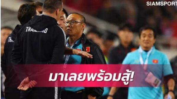 Bị hăm phạt, trợ lý HLV Thái Lan lên tiếng xin lỗi ông Park Hang-seo