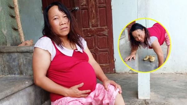 """Khát vọng làm mẹ của thai phụ tật nguyền, phải đi lại bằng đôi tay: """"Vì con tôi sẽ vượt qua tất cả, chỉ mong đến ngày nhìn thấy mặt con"""""""
