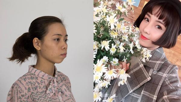 Bị bạn gái cũ của người yêu chê 'xấu như vượn', cô gái Thái Bình 'lột xác' thành hot girl xinh đẹp