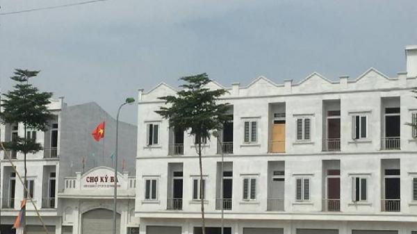 Thái Bình:  Vi phạm nghiêm trọng tại Dự án Đầu tư xây dựng và kinh doanh cơ sở hạ tầng Chợ Kỳ Bá