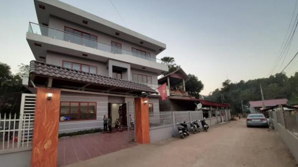 """""""Biệt phủ"""" của Hà Đức Chinh xây cho mẹ: 3 tầng hoành tráng, bảo to nhất huyện cũng không ngoa!"""