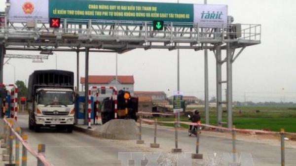 Thái Bình: Tasco bàn giao 3 trạm thu phí BOT tự động