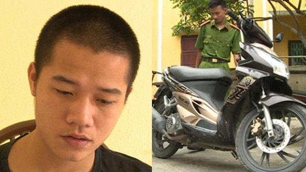 Thái Bình: Bắt đối tượng lợi dụng sơ hở đột nhập nhà dân trộm xe máy