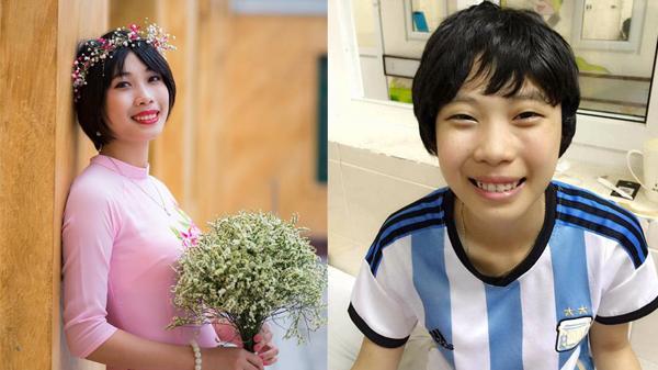 Nữ sinh Thái Bình sống chung với ung thư, biến nước mắt thành nụ cười