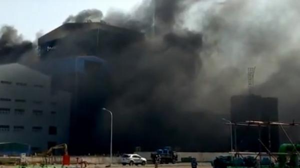 Thông tin chính thức vụ cháy ở nhà máy Nhiệt điện Thái Bình