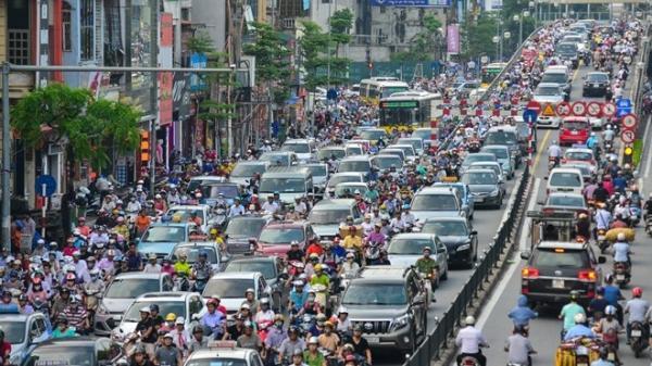 """Thực hư tin cấm xe biển số """"tỉnh lẻ"""" vào thành phố để giảm ùn tắc"""