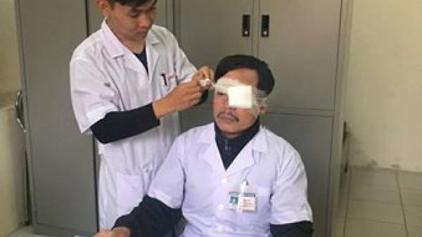 Vụ bác sỹ bị đánh ở Thái Bình: Phải phẫu thuật vì gãy mũi