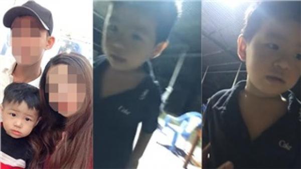 Clip: Người bố tiết lộ chiếc áo con trai mặc ở thời điểm mất tích, đau xót vì 'mới quay cho con hôm trước'