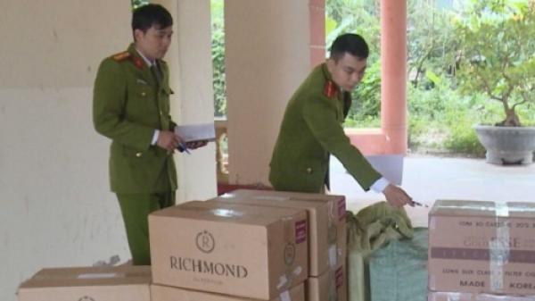Thái Bình bắt giữ khoảng 10.000 bao thuốc lá không nguồn gốc