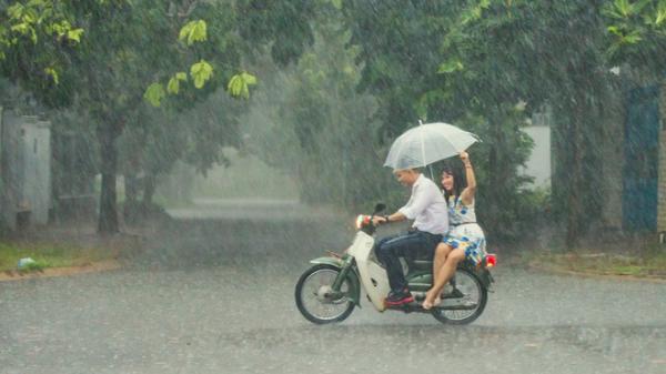 Nhiều khu vực trên cả nước có mưa to