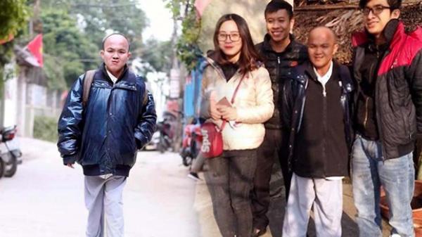 Chàng trai khuyết tật quê Thái Bình ăn chay trường đi bộ xuyên Việt bảo vệ động vật